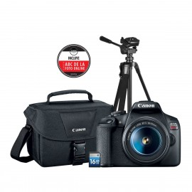 KIT T7 EF-S 18-55 IS+ GB 200ES+ TRIPOID+SD+CURSO ONLINE